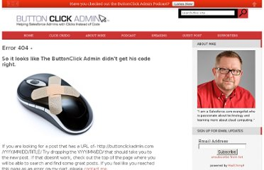 http://buttonclickadmin.com/2011/12/08/thursday-am-admin-how-to-be-a-super-salesforce-admin/
