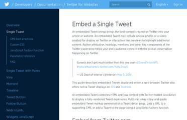 https://dev.twitter.com/docs/embedded-tweets