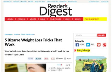 http://www.rd.com/slideshows/5-bizarre-weight-loss-tricks-that-work/