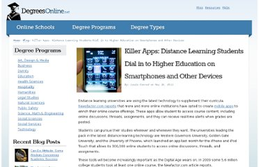 http://www.degreesonline.net/blog/killer-apps-distance-learning-students-dial-in-to-higher-education-on-smartphones-and-other-devices/