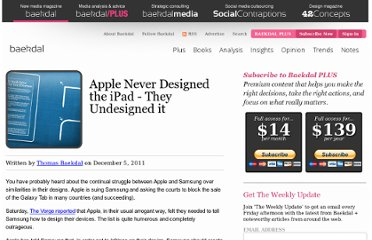 http://www.baekdal.com/opinion/apple-never-designed-the-ipad-they-undesigned-it/