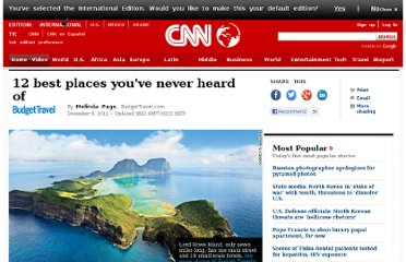 http://www.cnn.com/2011/12/06/travel/12-best-places-bt/index.html