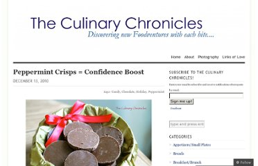 http://theculinarychronicles.com/2010/12/13/peppermint-crisps-confidence-boost/