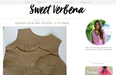 http://sweet-verbena.blogspot.com/2011/07/making-your-own-pattern-tutorial.html