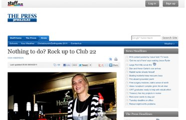 http://www.stuff.co.nz/the-press/news/4862099/Nothing-to-do-Rock-up-to-Club-22