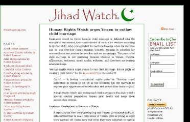 http://www.jihadwatch.org/2011/12/human-rights-watch-urges-yemen-to-outlaw-child-marriage.html