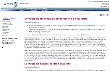 http://www.wipo.int/sme/fr/ip_business/licensing/franchise_license.htm