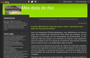 http://mesdocsdedoc.over-blog.com/article-travailler-differemment-la-prise-de-note-en-4eme-introduction-de-la-notion-de-document-de-collecte-59406314.html