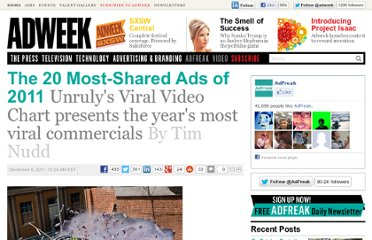 http://www.adweek.com/adfreak/20-most-shared-ads-2011-136997