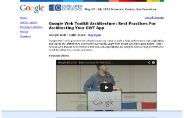 http://www.google.com/intl/fr-FR/events/io/2009/sessions/GoogleWebToolkitBestPractices.html