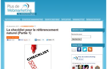 http://www.plus-de-webmarketing.com/la-check-liste-pour-le-referencement-naturel-partie-1-101818