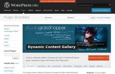 http://wordpress.org/extend/plugins/dynamic-content-gallery-plugin/