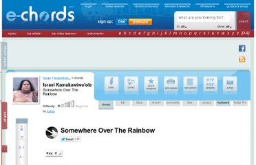 http://www.e-chords.com/chords/israel-kamakawiwoole/somewhere-over-the-rainbow