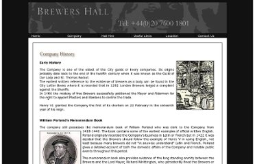 http://www.brewershall.co.uk/history.htm