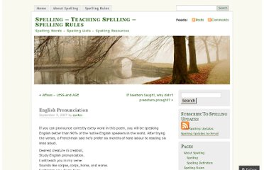 https://spelling.wordpress.com/2007/09/05/english-pronunciation/