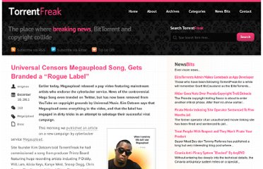 http://torrentfreak.com/universal-censors-megaupload-song-gets-branded-a-rogue-label-111210/