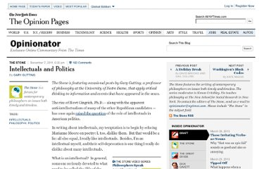 http://opinionator.blogs.nytimes.com/2011/12/07/intellectuals-and-politics/