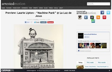 http://arrestedmotion.com/2010/11/preview-laurie-lipton-machine-punk-la-luz-de-jesus/