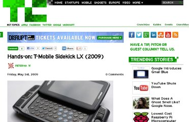 http://techcrunch.com/2009/05/01/hands-on-t-mobile-sidekick-lx/