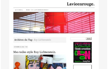 http://leblogdelavieenrouge.wordpress.com/tag/roy-lichtenstein/