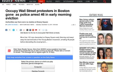 http://www.nydailynews.com/news/occupy-wall-street-protesters-boston-police-arrest-46-early-morning-eviction-article-1.989655?localLinksEnabled=false