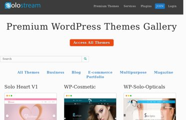 http://www.solostream.com/wordpress-themes/
