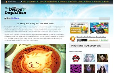http://thedesigninspiration.com/articles/50-fancy-and-pretty-arts-of-coffee-foam/