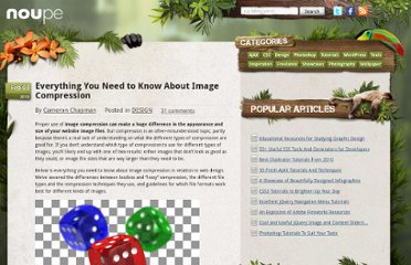 http://www.noupe.com/design/everything-you-need-to-know-about-image-compression.html