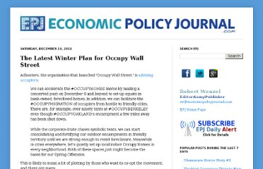 http://www.economicpolicyjournal.com/2011/12/latest-winter-plan-for-occupy-wall.html