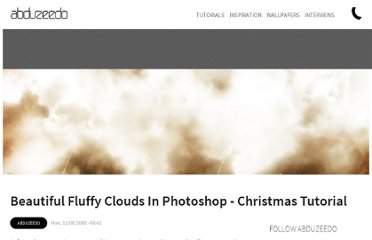http://abduzeedo.com/beautiful-fluffy-clouds-photoshop-christmas-tutorial