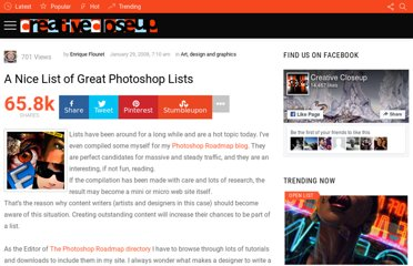 http://www.creativecloseup.com/a-nice-list-of-great-photoshop-lists