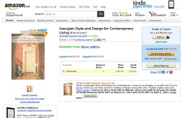 http://www.amazon.co.uk/Georgian-Style-Design-Contemporary-Living/dp/1906525196