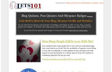 http://www.lets101.com/blog/quizzes