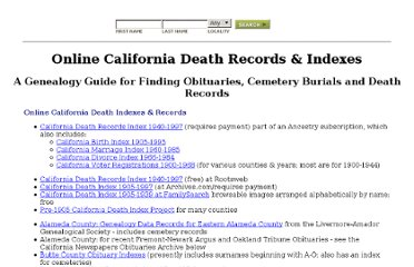 http://www.deathindexes.com/california/index.html