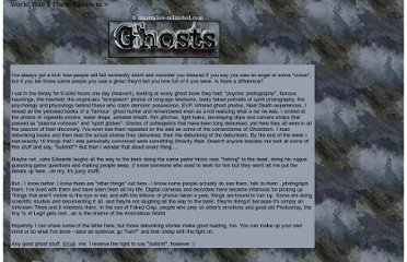 http://www.anomalies-unlimited.com/Ghosts.html