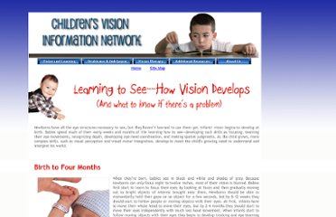 http://www.childrensvision.com/development.htm
