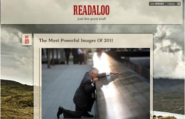 http://www.readaloo.com/the-most-powerful-images-of-2011