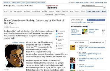 http://www.nytimes.com/2011/12/06/science/joichi-ito-innovating-by-the-seat-of-our-pants.html?_r=1