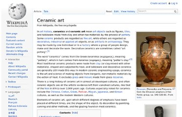http://en.wikipedia.org/wiki/Ceramic_art