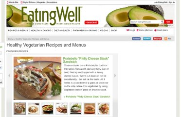 http://www.eatingwell.com/recipes_menus/collections/healthy_vegetarian_recipes#0