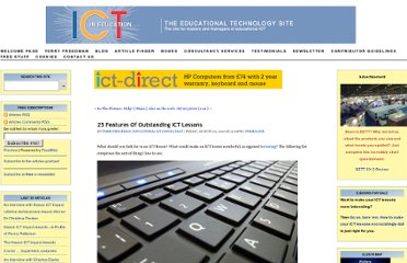 http://www.ictineducation.org/home-page/2010/8/20/25-features-of-outstanding-ict-lessons.html