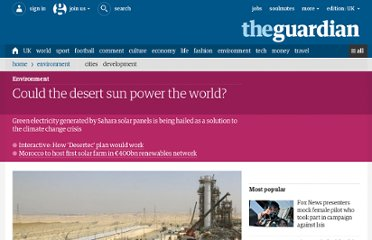 http://www.guardian.co.uk/environment/2011/dec/11/sahara-solar-panels-green-electricity