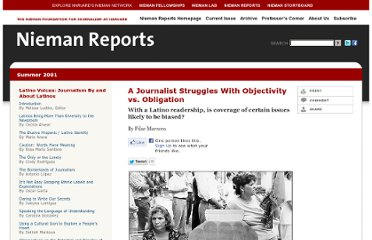http://www.nieman.harvard.edu/reports/article/101657/A-Journalist-Struggles-With-Objectivity-vs-Obligation.aspx