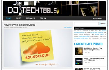 http://www.djtechtools.com/2011/04/03/how-to-win-at-soundcloud/