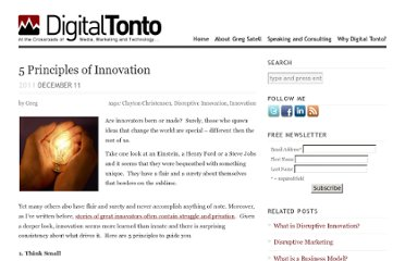 http://www.digitaltonto.com/2011/5-principles-of-innovation/