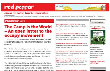 http://www.redpepper.org.uk/the-camp-is-the-world-an-open-letter-to-the-occupy-movement/