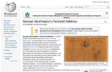 http://en.wikipedia.org/wiki/George_Washington%27s_Farewell_Address