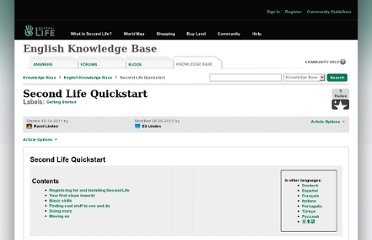 http://community.secondlife.com/t5/English-Knowledge-Base/Second-Life-Quickstart/ta-p/1087919