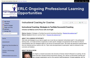 http://erlc.wikispaces.com/Instructional+Coaching+for+Coaches