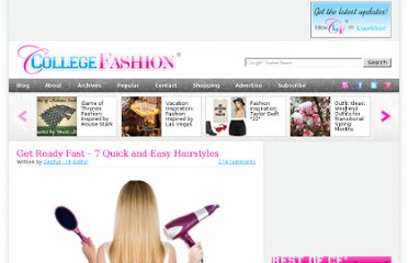 http://www.collegefashion.net/beauty-and-hair/get-ready-fast-7-quick-and-easy-hairstyles/